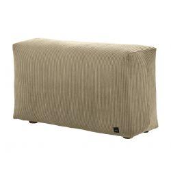 Module vertical pour le canapé Vetsak, velour cotelé khaki