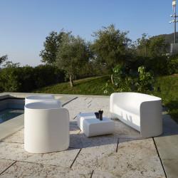 Salon de jardin Nova, Myyour couleur blanc