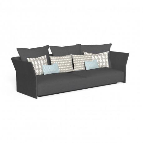 Canapé modulaire, dossier en tissu Cliff, Talenti gris