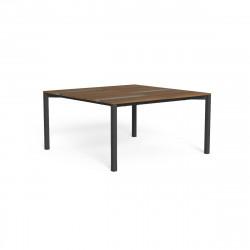 Table à manger Casilda, Talenti graphite 150 x 150 cm