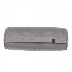 Coussin Noodle pillow 42 x 16 cm, pour canapé Vetsak, velours gris clair