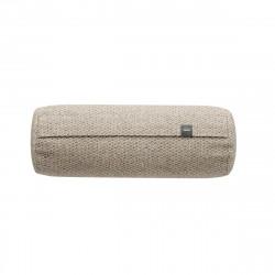 Coussin Noodle pillow 42 x 16 cm outdoor, pour canapé Vetsak, tissu d'extérieur tricoté gris 'stone'