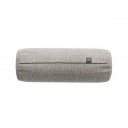 Coussin Noodle pillow 42 x 16 cm outdoor, pour canapé Vetsak, tissu d'extérieur tricoté gris