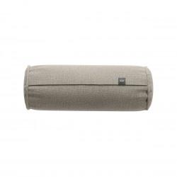 Coussin Noodle pillow 42 x 16 cm outdoor, pour canapé Vetsak, tissu d'extérieur lin gris 'stone'