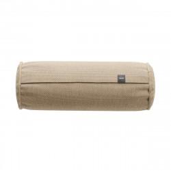 Coussin Noodle pillow 42 x 16 cm outdoor, pour canapé Vetsak, toile d'extérieur beige