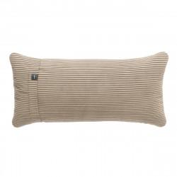 Coussin Pillow 60 x 30 cm, pour canapé Vetsak, velours côtelé sable