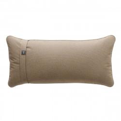 Coussin Pillow 60 x 30 cm outdoor, pour canapé Vetsak, toile d'extérieur gris 'stone'