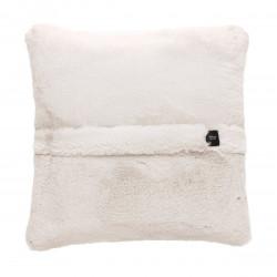 Coussin Big pillow 60 x 60 cm, pour canapé Vetsak, fausse fourrure beige
