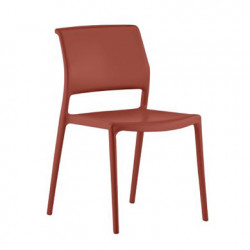 Chaise Ara 310, Pedrali rouge