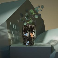 Pot Adan Nano Glossy, Fumé, 13 x 17 x H19 cm, Vondom