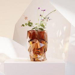 Pot Adan Nano Glossy, Ambre, 13 x 17 x H19 cm, Vondom