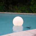 Lampe de piscine Acquaglobo, Slide Design blanc Diamètre 30 cm