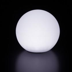 Lampe d\'extérieur Globo Out , Slide Design blanc Diamètre 200 cm