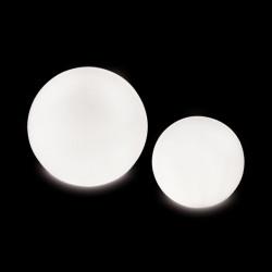 Lampe globe d'intérieur Globo In, Slide Design blanc Diamètre 70 cm