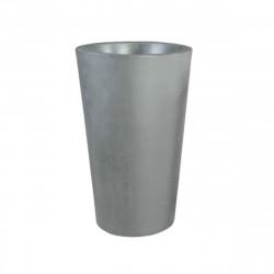 Grand X-pot gris, Slide Design gris Hauteur 83 cm