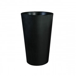 Grand X-pot noir, Slide Design noir Hauteur 135 cm