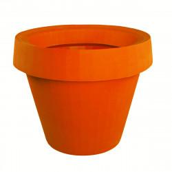 Pot géant Gio Tondo, Slide Design orange H 92 cm