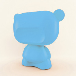 Lampe Art Toy Pure, Slide Design bleu