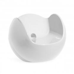 Fauteuil Blos, Slide Design blanc