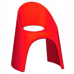 Chaise Amélie, Slide Design rouge