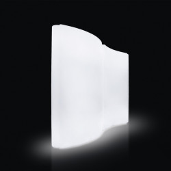 Paravent lumineux Gio Wind, Slide Design blanc