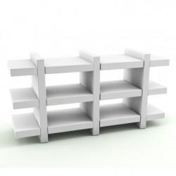 Etagère Booky Médium Slide blanc