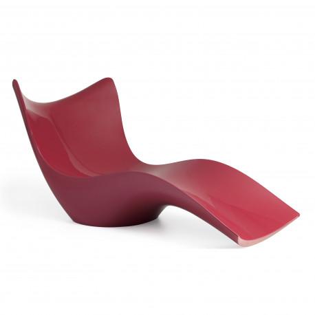 Chaise Longue Surf, Vondom rouge