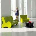 Sofa design Doux, Vondom vert