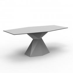 Table Vertex L180 cm, Vondom gris