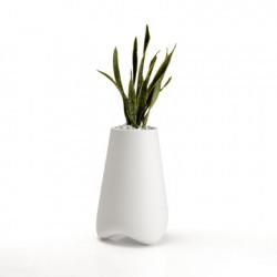 Pot de Jardin Vlek diamètre 45 cm, Vondom blanc Mat