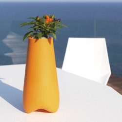 Pot de Jardin Vlek diamètre 45 cm, Vondom orange Mat