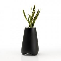 Pot de jardin Vlek diamètre 55 cm, Vondom noir Mat