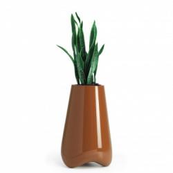 Pot de jardin Vlek diamètre 55 cm, Vondom orange laqué Laqué