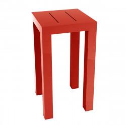 Table haute Jut, Vondom rouge