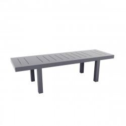 Table rectangulaire Jut L280cm, Vondom gris