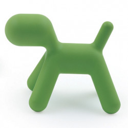 Fauteuil Puppy, Magis Me Too vert Taille S