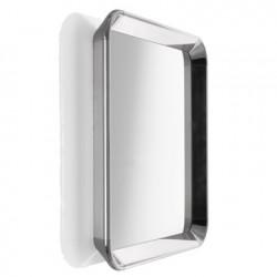 Miroir carré design Déjà Vu, Magis aluminium poli