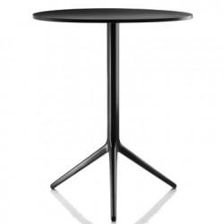 Table Central, Magis noir diamètre 60cm