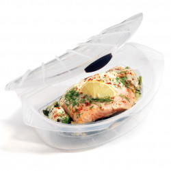 Papillote en silicone MeShell, Siliconezone transparent Taille M
