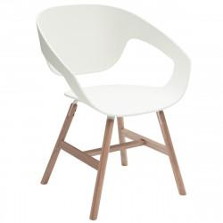 Chaise design Vad Wood, Casamania blanc
