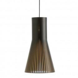 Suspension design Secto 4200, Secto Design, noir, hauteur 45 cm
