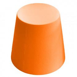 Ali Baba, tabouret design, Slide Design orange, hauteur d\'assise 43 cm