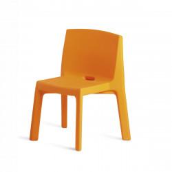 Chaise Q4, Slide design orange