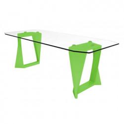 Table Iso, Qui est paul ? vert L220cm
