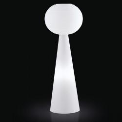 Lampadaire Pivot Molly Outdoor, Slide Design blanc