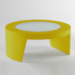 Table basse Tao, Slide Design jaune