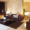 Canapé lounge Vela, Vondom bronze, tissu Silvertex