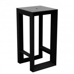 Table haute Frame, Vondom noir