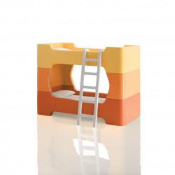 2 Modules intermédiaires et petite échelle pour Bunky, Magis Me Too orange et blanc