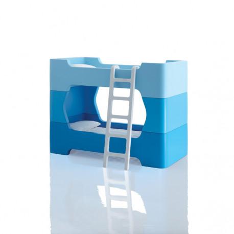 2 Modules intermédiaires et petite échelle pour Bunky, Magis Me Too bleu et blanc